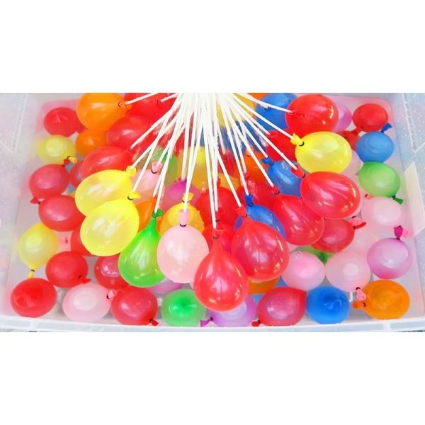Vattenballonger - Snabbfyllda och Självförslutande 111st multifärg