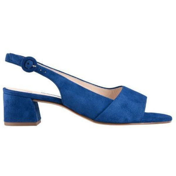 Joy Blue Middle Heels Blue 5
