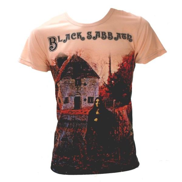 Born2Rock - BLACK SABBATH FIRST - Mens T-Shirt 5XL / Grey