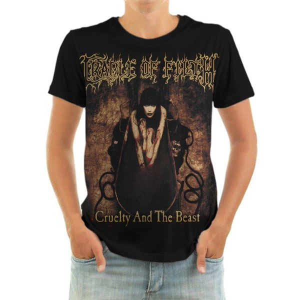 Born2Rock - CRUELTY AND THE BEAST - Cradle of Filth T-Shirt M
