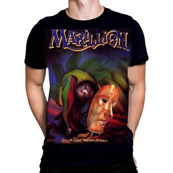 Born2Rock - Marillion - MARKET SQUARE - Men's T-Shirt XXXXXL