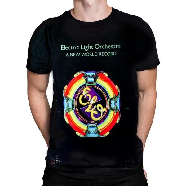 Born2Rock - NEW WORLD RECORD - Electric Light Orchestra T-Shirt Large / Multi