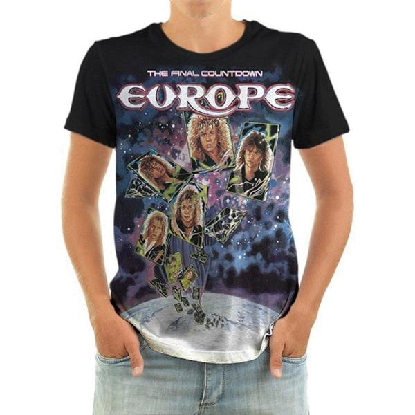Born2Rock - THE FINAL COUNTDOWN - Europe T-Shirt M