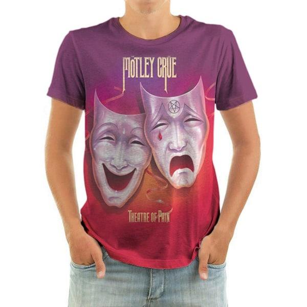 Born2Rock - THEATRE OF PAIN - Motley Crew T-Shirt XL