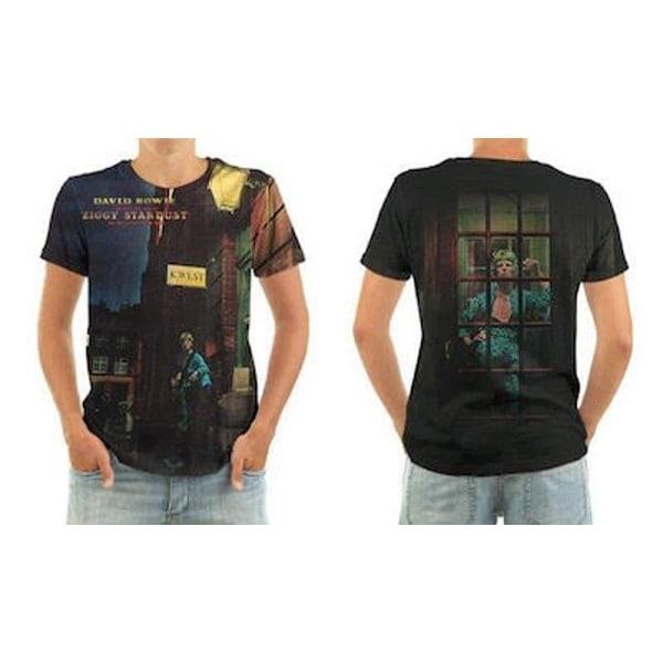 Born2Rock - ZIGGY STARDUST - David Bowie Mens T-Shirt 4XL / Multicoloured