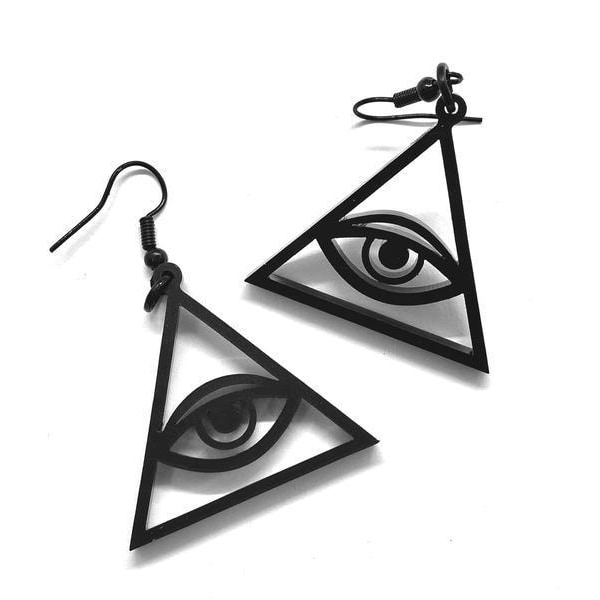Curiology - ALL SEEING EYE - Earrings