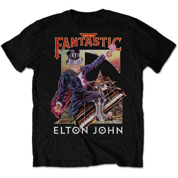 Elton John - CAPTAIN FANTASTIC - T-Shirt L