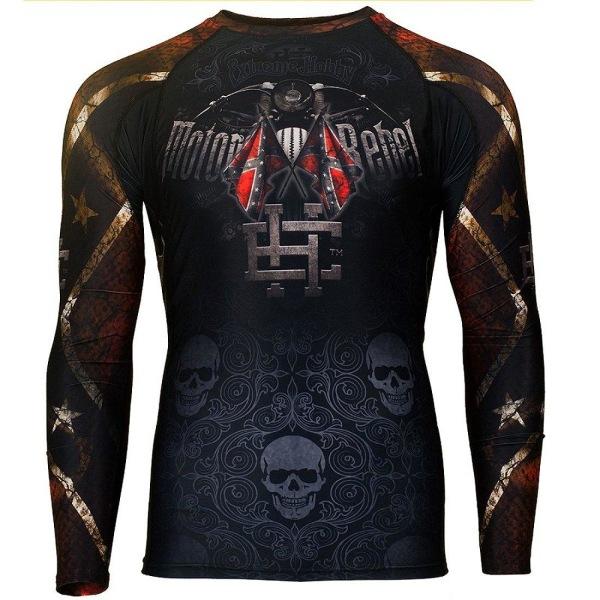 Extreme Hobby - MOTO REBEL - Rashguard Long sleeve S