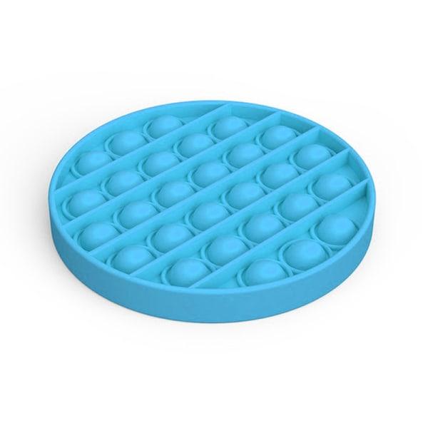Jaune Pop It Fidget Toy Jouet Fidget Sensory Push Bubble Carr/é Silicone Pop Jouet Sensoriel Anti-Stress Push Pop Bulle Sensorielle pour Toutes Les Personnes 12*12 cm
