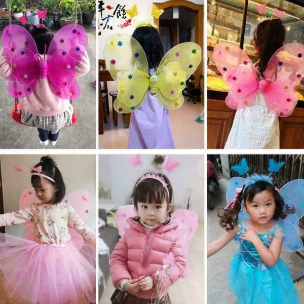 1 * Glödande fjäril Beautiful Fairy Princess Party Costume Prop