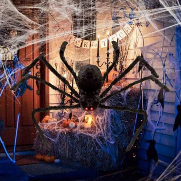 30-200 CM jätte spindel Halloween dekoration rekvisita spökhus