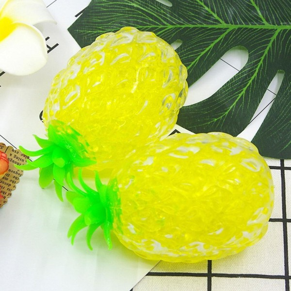 Adults Children Stress Relief Squeeze Pineapple Ball Toy