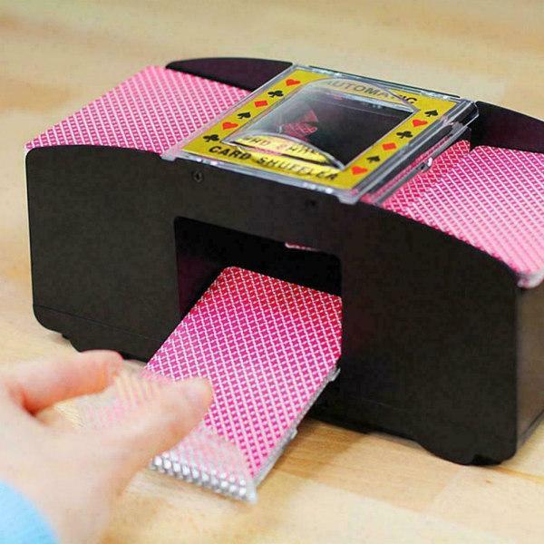 Elektrisk automatisk poker shuffler brädspel spel maskin leksak