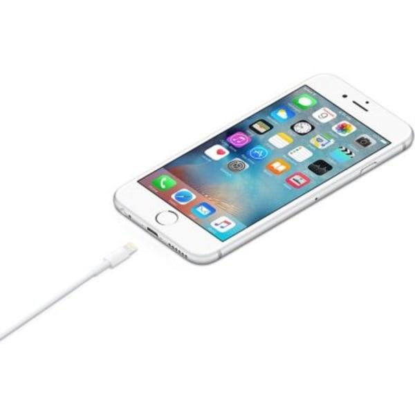 2-pack Apple Lightning USB-kabel (vit) 2M Original MD819ZM/A