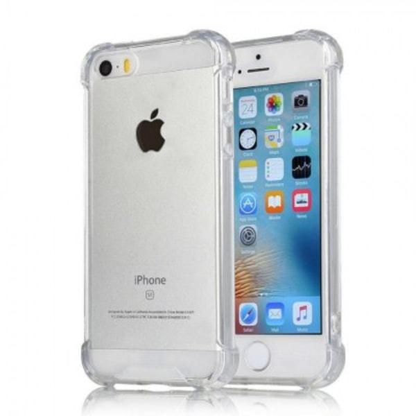 iphone 5/5S/SE Shockproof Skal TPU Transparent