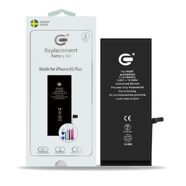 iPhone 6S Plus Batterikit Komplett - Högsta kvalitet