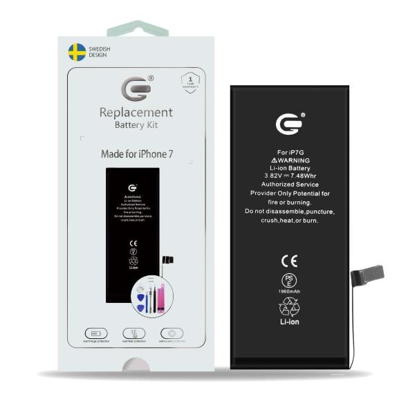 iPhone 7 Batterikit Komplett - Högsta kvalitet