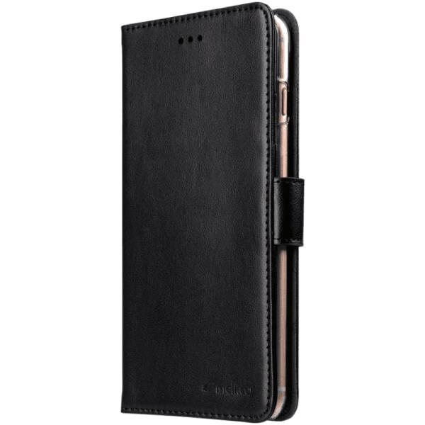 Melkco Plånboksfodral för iPhone 6/6S/7/8 Plus Svart