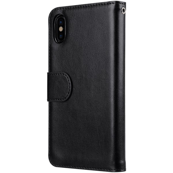 Melkco Wallet Case Plånboksfodral iPhone X / XS - Svart