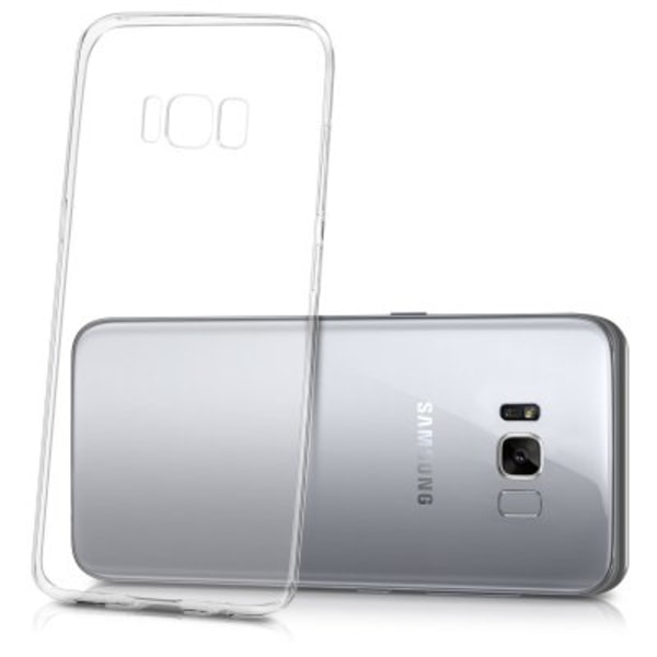 Samsung S8 Plus Transparent Ultra Thin Silicone skal