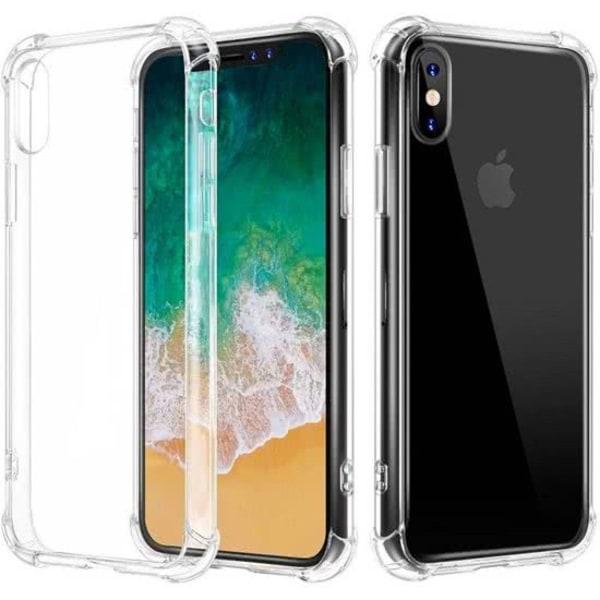Shockproof Skal till iPhone XS Max TPU Transparent