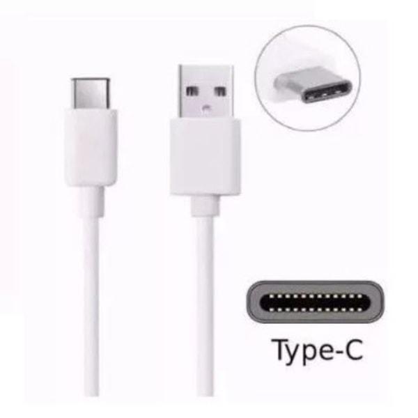 2 Pack Orignal Samsung USB-C snabbladdning Kabel Vit Vit