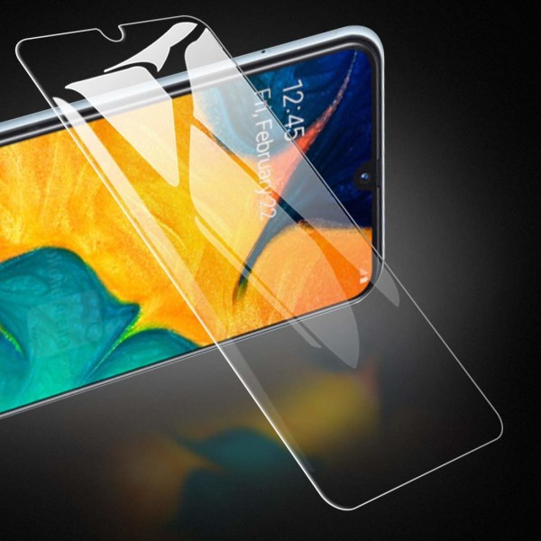 2 Pack Samsung Galaxy A50 3D Härdat glas Skärmskydd HD  Transparent