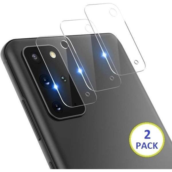 2-PACK Samsung Galaxy S20 Plus Bak kamera Skärmskydd  Transparent