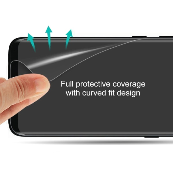 Huawei P30 Pro Skärmskydd med böjda kanter Transparent