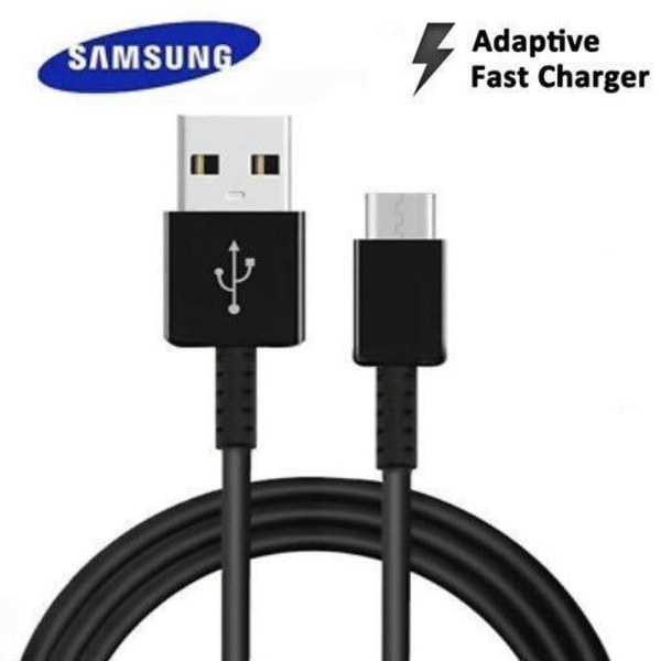Orignal Samsung Extra Lång 1.5m USB-C Kabel Svart Svart