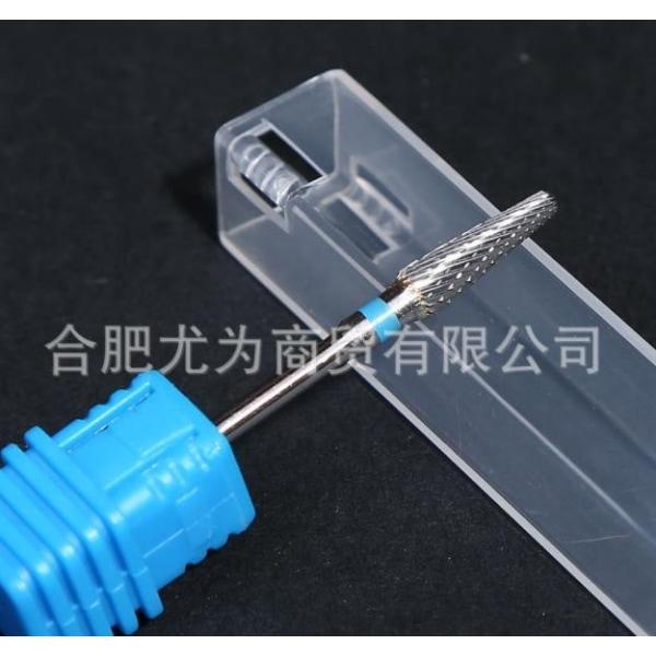Elektrisk manikyrmaskin Nail Drill Bits Heads Cutter File Gel Medium