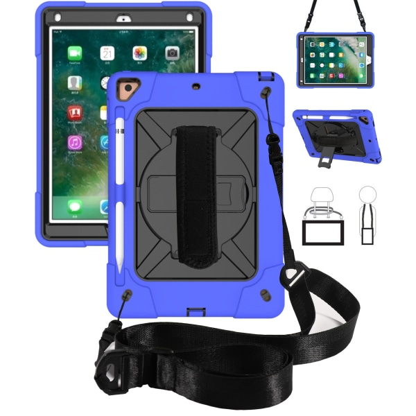 "För iPad 10.2 ""Shocktous Buty Tablet Protective Cash Case med r"