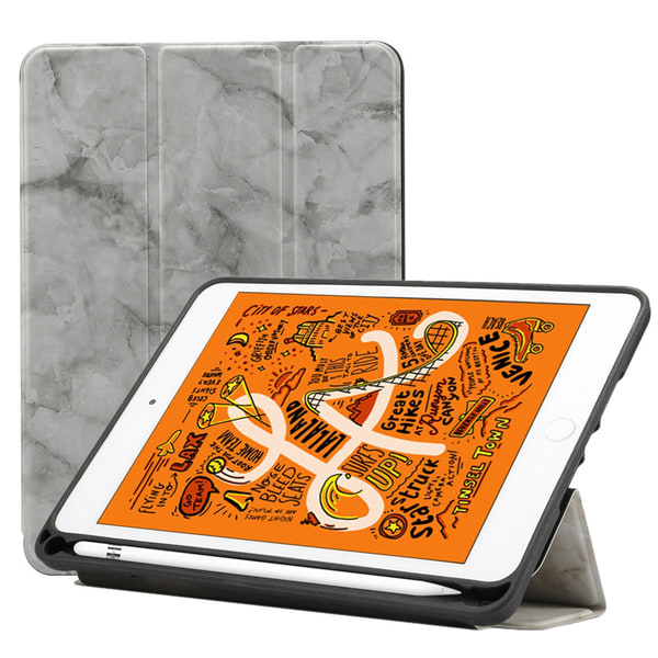 Fodral för iPad Mini (2019) - Marmormönster
