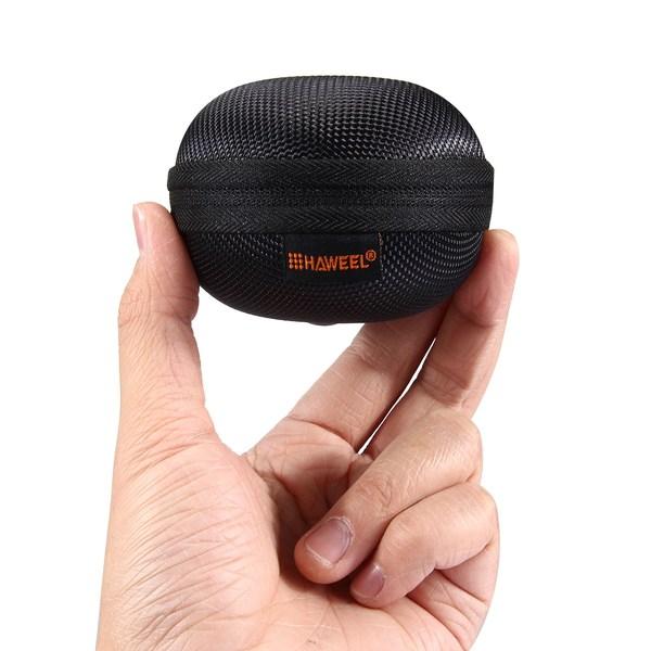 HAWEEL Förvaringsväska med karbinhake för hörlurar
