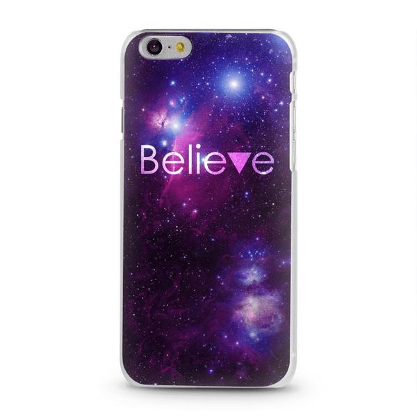 iDiwa Skal iPhone 6 - Believe triangel rosa & blå