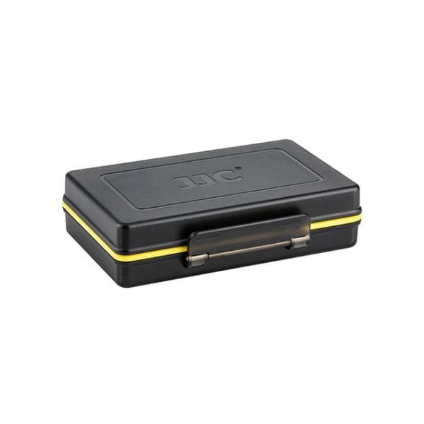 JJC Batteri & minneskortsfodral BC-3UN1