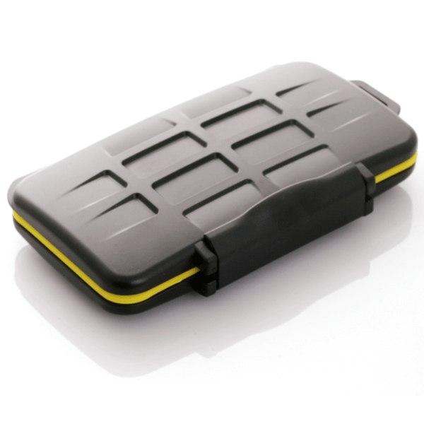 JJC Vattentät ask för minneskort 12xSD - MC-SD12
