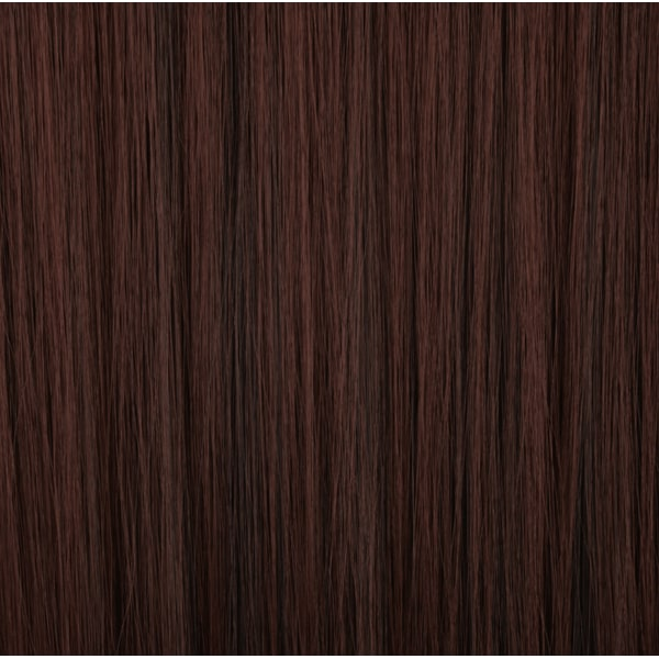 Mizzy löshår rakt 5 Clip on - Rödbrun & Svart #2H33