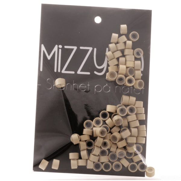Mizzy microringar ca: 200st - Gula