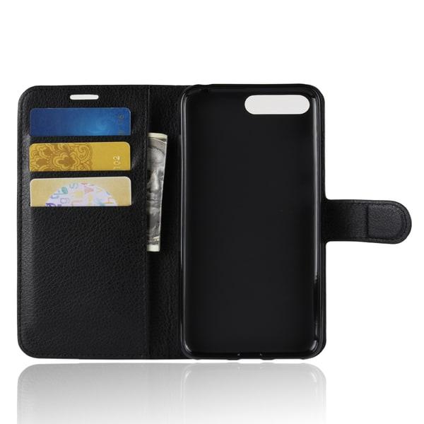 Plånboksfodral för Huawei Y6 (2018) PU-läder