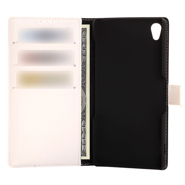 Plånboksfodral för Sony Xperia Z3 - Vit