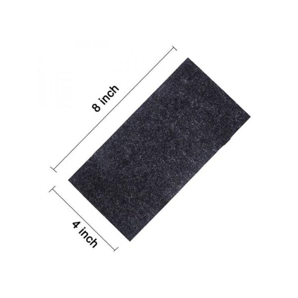 2Pcs Nano- Magic Car Scratch Removal Cloth Black 2pcs