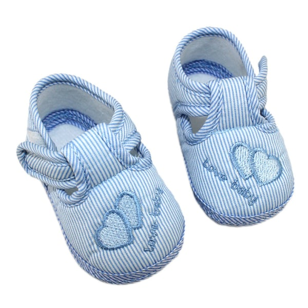 3 Colors Newborn Cotton Hasp Soft Shoes sole Skidproof 0-18M Pink 13-18Months