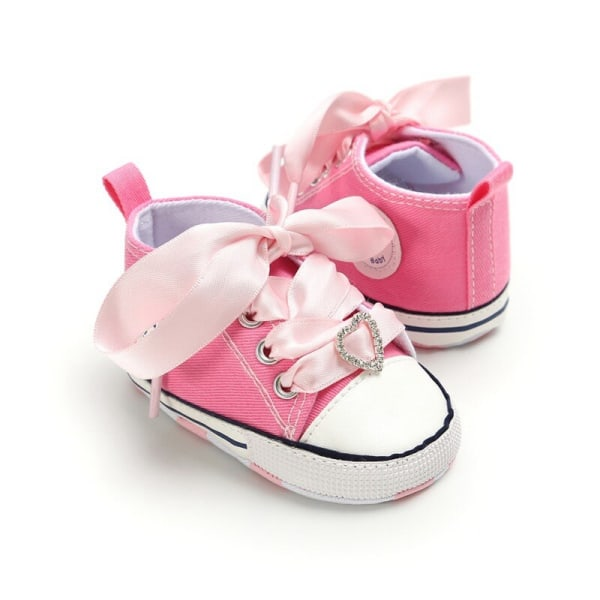 Baby Baby Satin Lace Cute Love Toddler Shoes