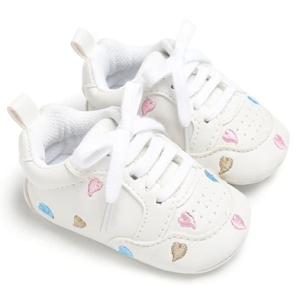 Baby lace-up casual soft-soled non-slip toddler shoes C 6-12Months