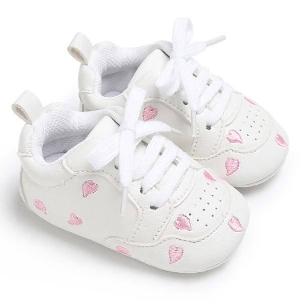 Baby lace-up casual soft-soled non-slip toddler shoes PA 12-18Months