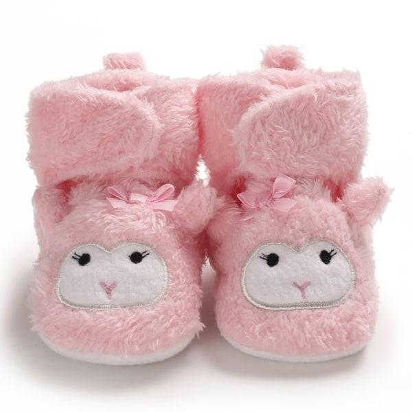 Baby Winter Warm Plus Velvet Toddler Cartoon Shoes N 12-18Months