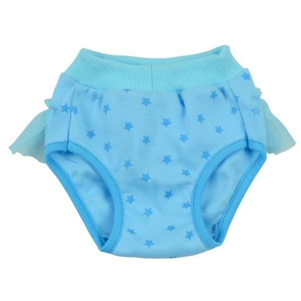 Bow Hygienic Short Pants Husdjur Sanitetsunderkläder Bomullsblandning