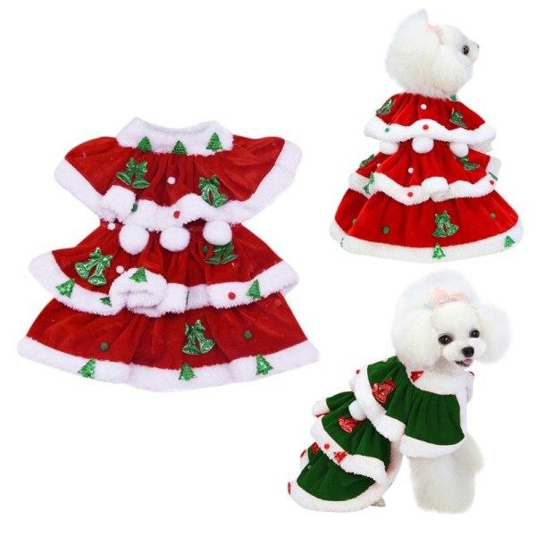 Christmas Dog Warm Cosplay Kostymklänning