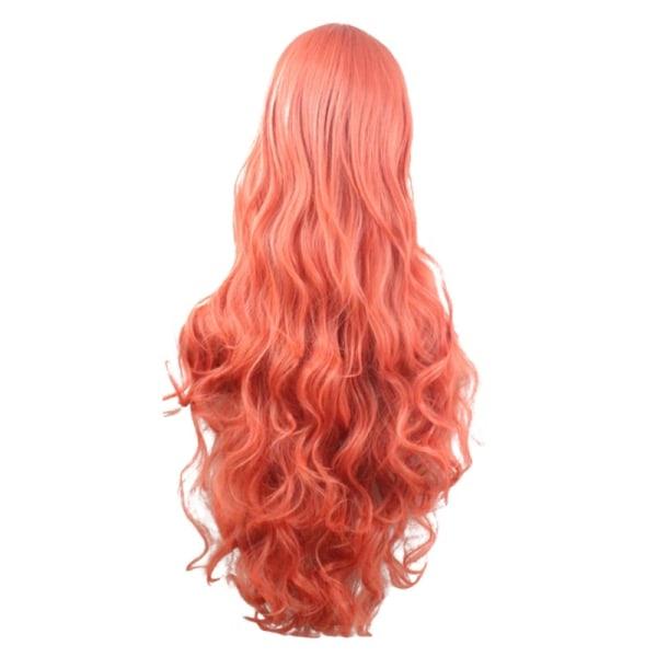 Cosplay Anime Färgperuk Långt lockigt hår